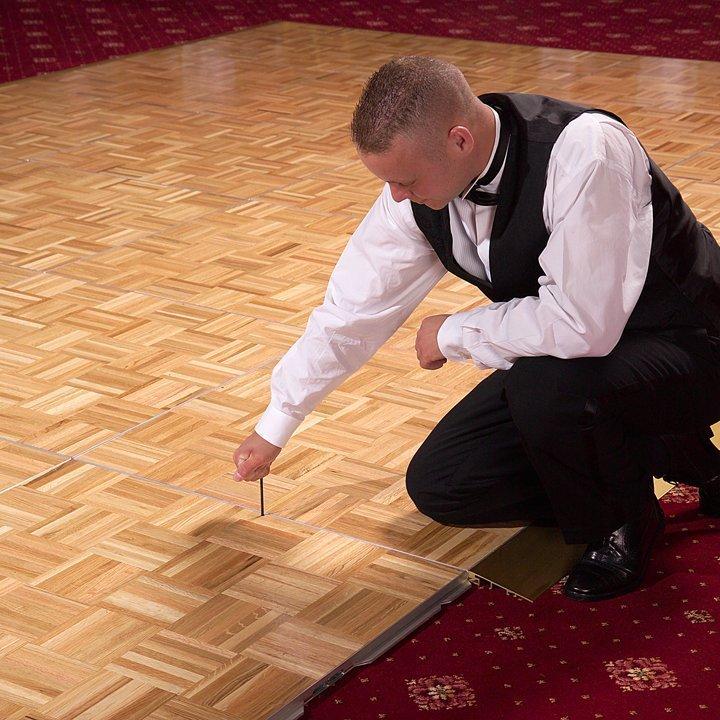 Dance Flooring Cam Lock Portable Dance Floor Sico