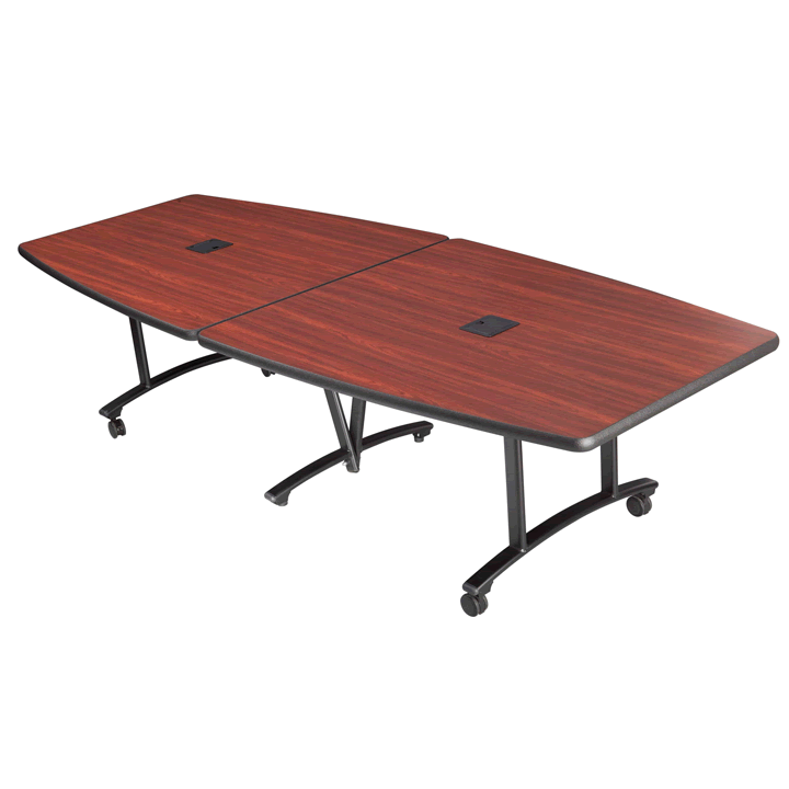 Conference Table Folding Rolling Tables SICO - Red conference table