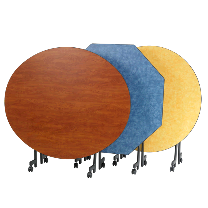 Pacer II Mobile Folding Table