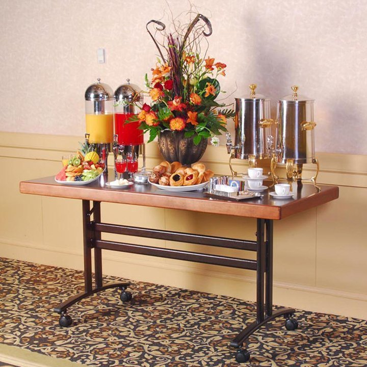 Coffee Table Leg Broken: Sophisticate Catering Table