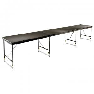 Variable Terrain Folding Leg Stage and Riser
