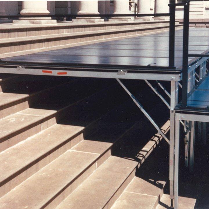 Portable Stage Variable Terrain Folding Leg Stage Sico