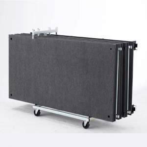 Caddies for Easy Transport and Storage of all Our Portable Stages