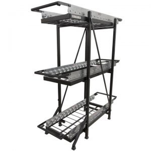 food warmer storage rack